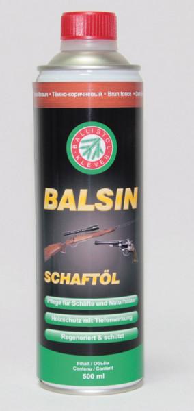 BALSIN Schaftöl 500 ml, dunkelbraun