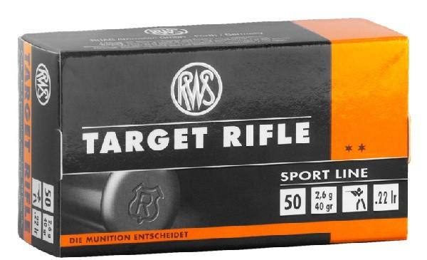 RWS Target Rifle KK Patrone